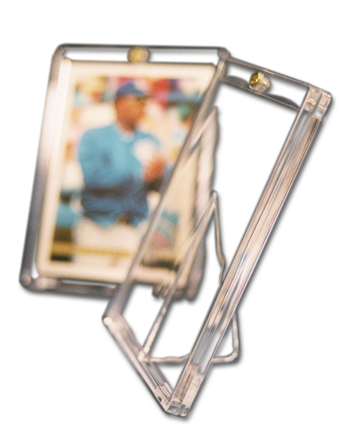 One Screw Screwdown Card Holder Standup Side