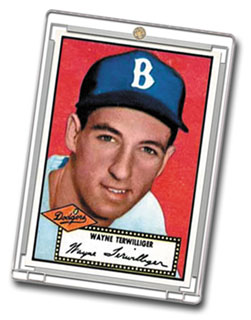 an overview of the baseball card history The baseball card war between topps and bowman was entering the decisive battle of 1954.